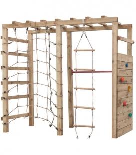 Station de jeux d'escalade Bokito en bois