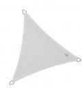 Voile Triangle Equilatéral ajourée 3,6m blanc Neige nouveauté 2021