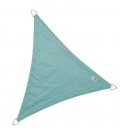 Voile Triangle Equilatéral ajourée 5,0m bleu glacial nouveauté 2021