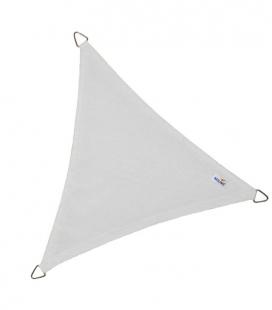 Voile Triangle Equilatéral ajourée 5,0m blanc neige nouveauté 2021