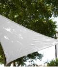 Voile 5m Densité 285Gr triangle equilatéral nouveauté coloris 2021 blanc neige
