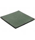 Dalle en caoutchouc amortissante vert ou rouge