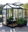 Serre de jardin en verre Piccolo P03 ACD 3.56m²