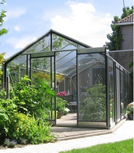 Greenhouse straight walls R305H ACD 11.35m² - 306 x 371cm