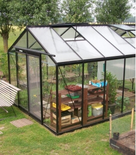 Greenhouse straight walls R306H ACD 13.62m² - 306 x 445cm