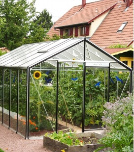Greenhouse straight walls R307H ACD 15.88m² - 306 x 519cm