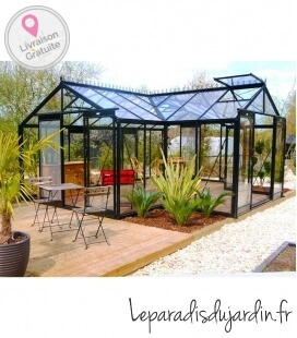 Serre à vivre Orangerie ACD 22,59m² - 451 x 593cm