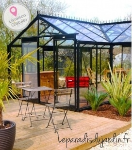 Greenhouse to live in Orangerie ACD 22,59m² - 451 x 593cm