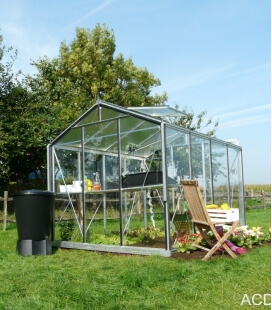 Greenhouse straight walls R204H ACD 6.91m² - 232 x 298cm