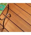 Bamboo decking board light brown 20 x 178 x 1850 mm