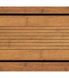 Lame terrasse bambou brun clair 20 x 178 x 1850 mm