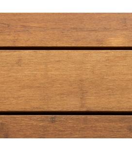 Light brown bamboo decking board 20 x 137 x 1850