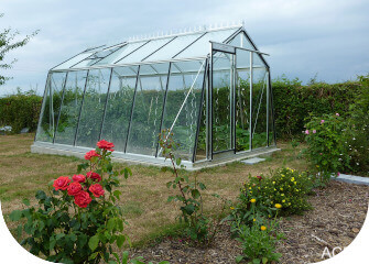 ACD oblique wall greenhouse