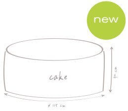 croquis dimension pouf de plein air outbag cake