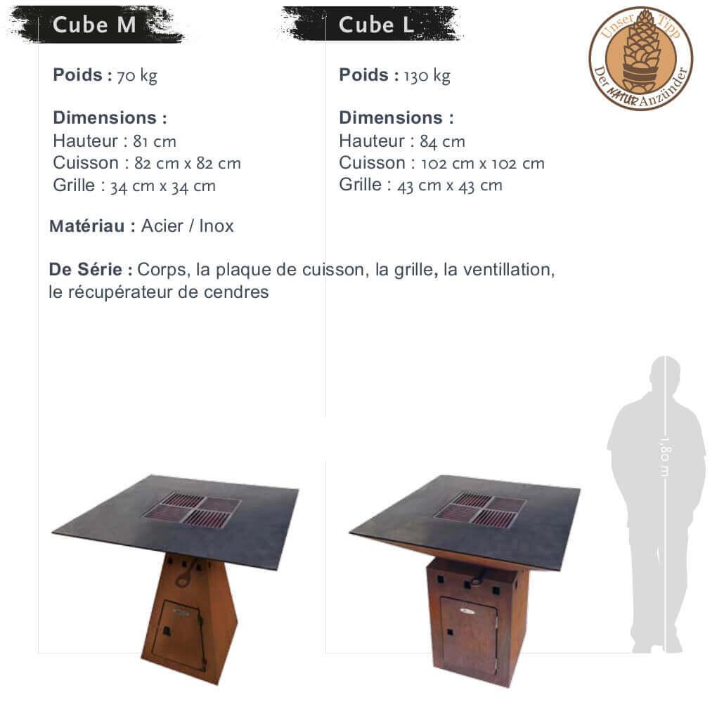 Barbecue Cube Par Barbecue Remundi Remundi Cube Brasero eHYEW9ID2