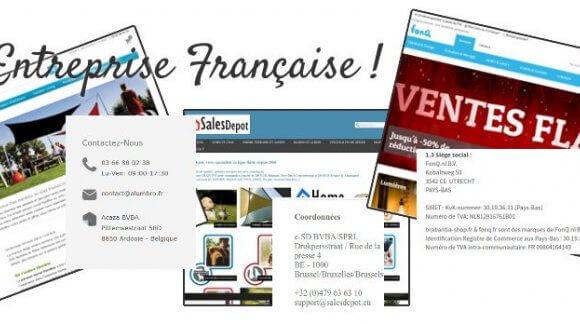 Entreprise Française ! attention